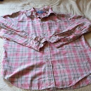 Ralph Lauren Plad Button Down Shirt